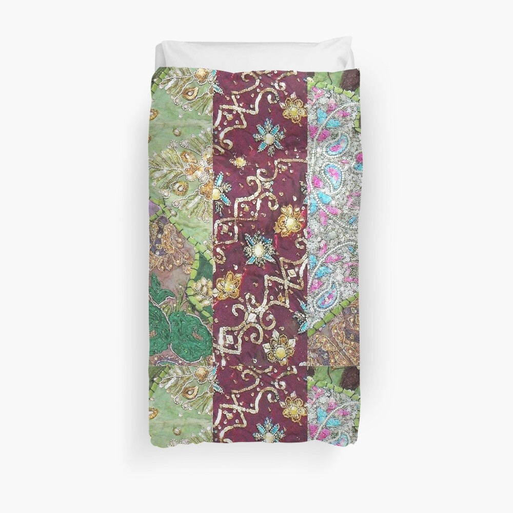 Quot Africa Moroccan Inspired Country Patchwork Quot Duvet Cover