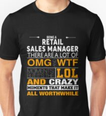 RETAIL SALES MANAGER BEST COLLECTION 2017 Unisex T-Shirt