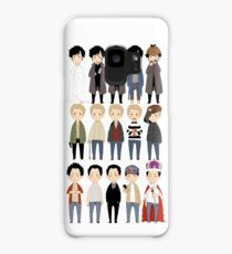 johns and sherlocks and moriarties Case/Skin for Samsung Galaxy