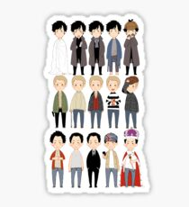 johns and sherlocks and moriarties Sticker