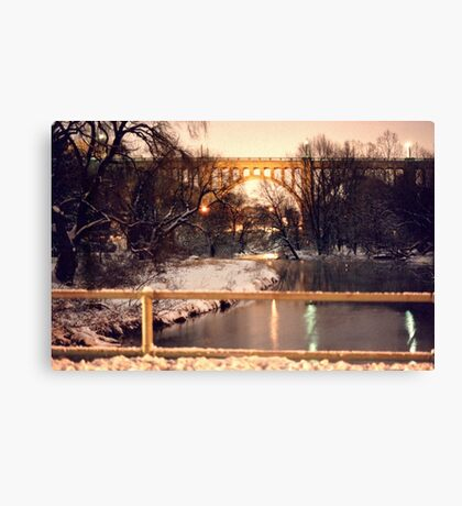 Eighth Street Bridge Canvas Print