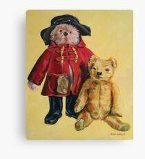 Bear friends. 60x50cm Acrylic 2014© Canvas Print