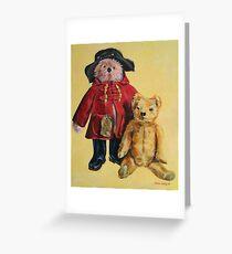 Bear friends. 60x50cm Acrylic 2014© Greeting Card