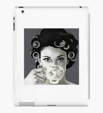 coffee lady iPad Case/Skin