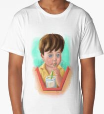 Toddler Drinking Long T-Shirt