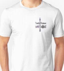 Teeth Flossed Way Lost Typography T-Shirt