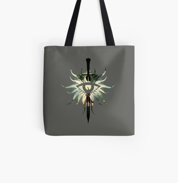 Dragon Age: Inquisition Symbol All Over Print Tote Bag