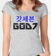 ♫❤I Love GOD7-KPop Forever❤♪ Women's Fitted Scoop T-Shirt