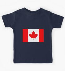 Fancy Flag Canada Kids Clothes