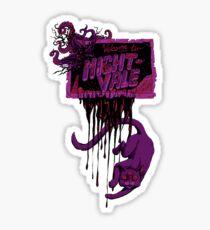 Zombie Night Vale Khoshekh Sticker