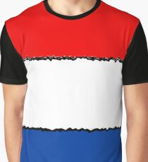 Fancy Flag The Netherlands Holland Dutch Graphic T-Shirt