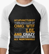 ACUPUNCTURIST BEST DESIGN 2017 Men's Baseball ¾ T-Shirt
