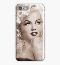Marilyn Danella Ice Sepia iPhone Case/Skin