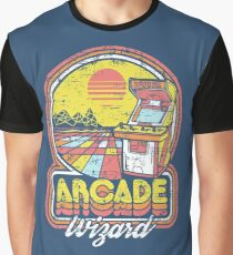 Arcade Wizard Graphic T-Shirt