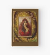 PSYCHIC FORTUNES: Vintage Fortune Telling Print Hardcover Journal