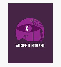 Welcome to Night Vale Logo Photographic Print