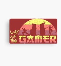 Way of the Gamer Canvas Print