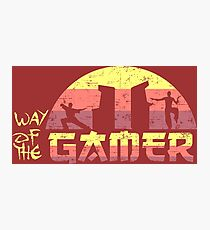 Way of the Gamer Photographic Print