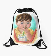 Toddler Drinking Drawstring Bag