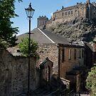 Edinburgh Castle in Scotland by Jeremy Lavender Photography