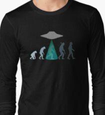 Evolution of man - UFO T-Shirt