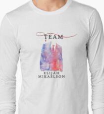 Team Elijah Mikaelson - The Originals  - The Vampire Diaries Long Sleeve T-Shirt