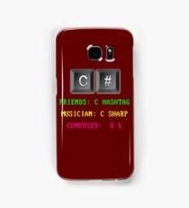 C# Programming Language Samsung Galaxy Case/Skin