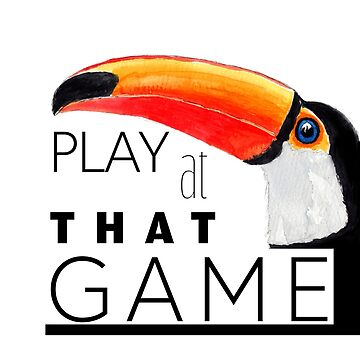 Toucan play at that game. by pjscribble