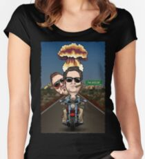 The Dollop: Bounty Hunters Women's Fitted Scoop T-Shirt