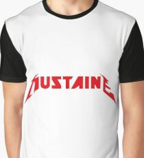 In Mustaine we trust Graphic T-Shirt