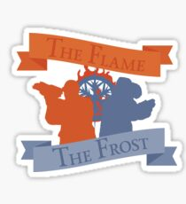 The Flame & The Frost - Captain Cold and Heatwave (The Flash & DC's Legends of Tomorrow) Sticker