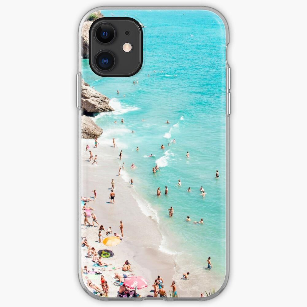 Coastal, Beach art, Blue Water, Sea, Ocean iPhone Case & Cover