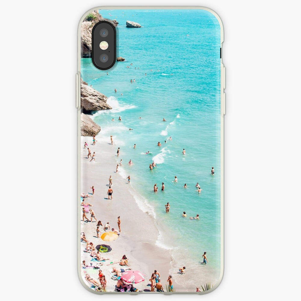 Coastal, Beach art, Blue Water, Sea, Ocean iPhone Case & Cover