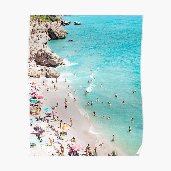 Strandkunst Poster