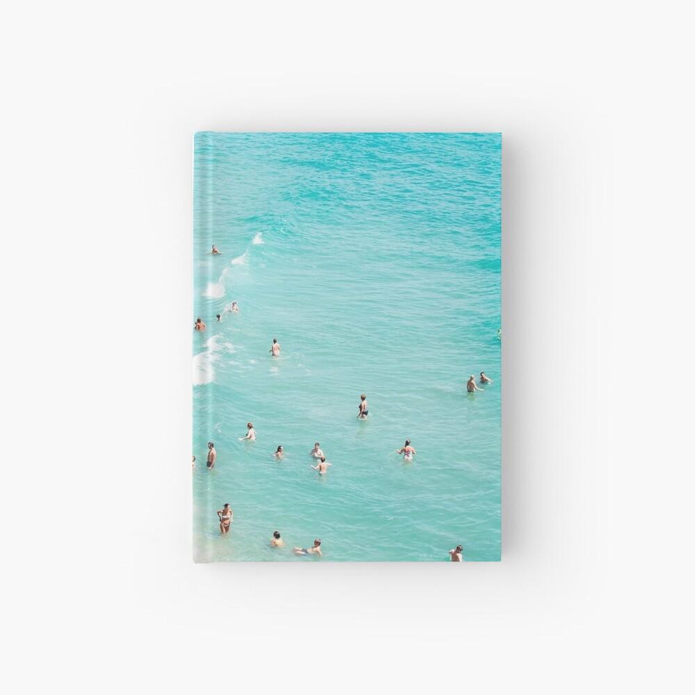 Coastal, Beach art, Blue Water, Sea, Ocean Hardcover Journal