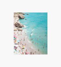 Coastal, Beach art, Blue Water, Sea, Ocean Art Board