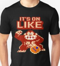 It's On Like Kong Gamer Computer Geek Donkey Kong  T-Shirt