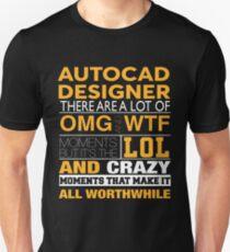 AUTOCAD DESIGNER BEST DESIGN 2017 Unisex T-Shirt