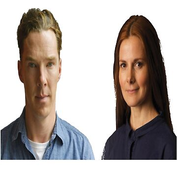 Benedict Cumberbatch and Louise Brealey by meggie1tr