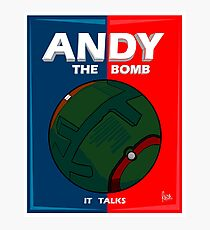 Andy The Bomb Photographic Print
