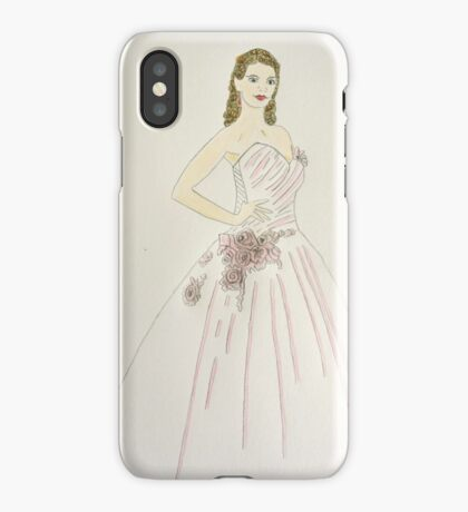 Wedding Dress No 6 iPhone Case
