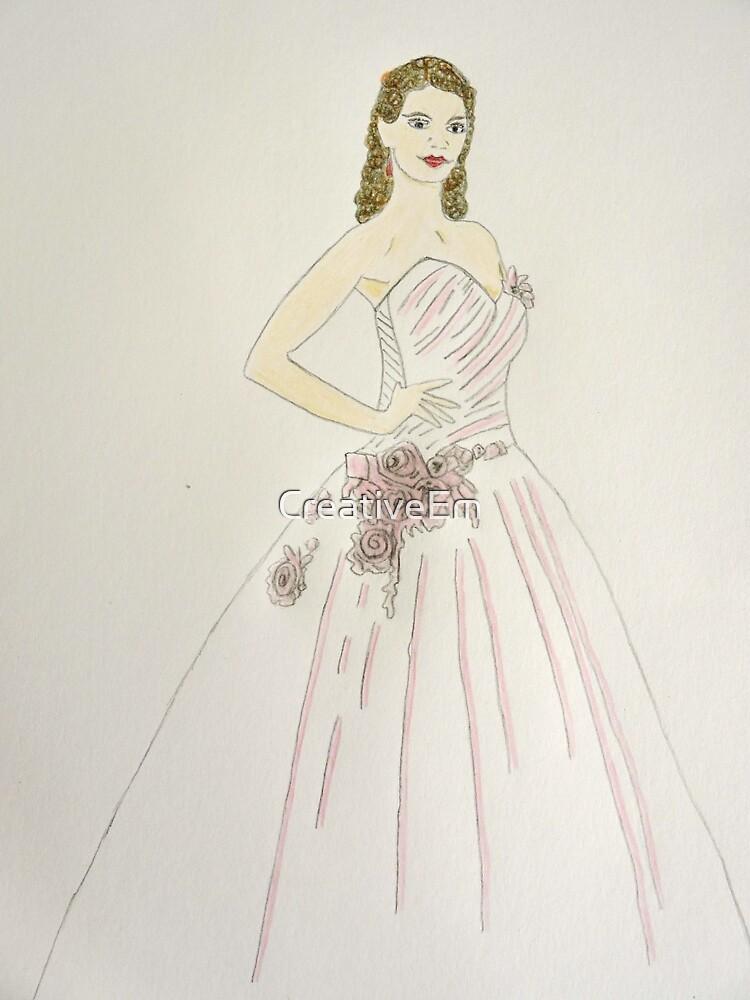 Wedding Dress No 6 by CreativeEm