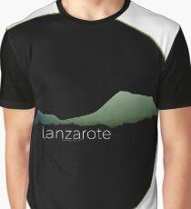 Paisaje Volcánico, norte de Lanzarote. Graphic T-Shirt