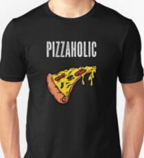Pizzaholic Pepperoni Pizza Slice Shirt T-Shirt