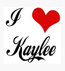 Firefly: I love Kaylee Photographic Print