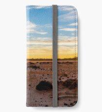 Sunset on Lake Dundas iPhone Wallet