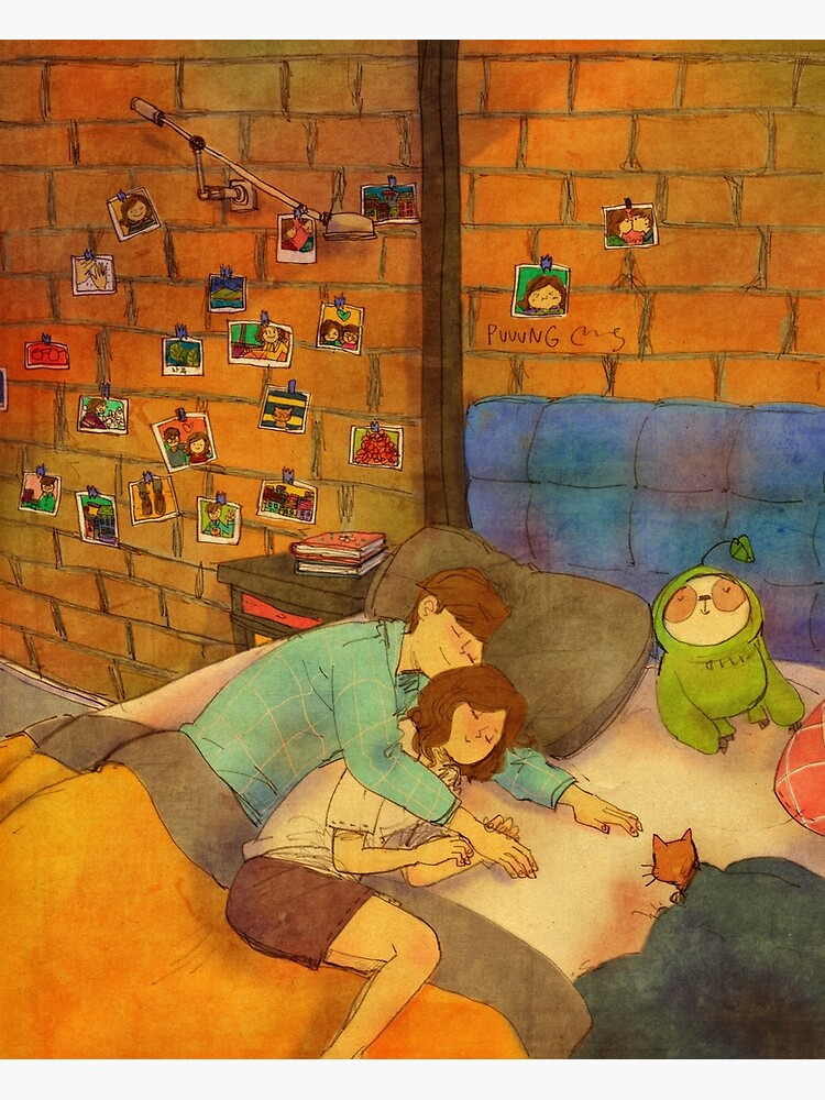 Napping together by puuung1