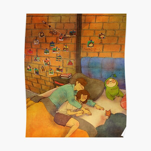 Napping together Poster