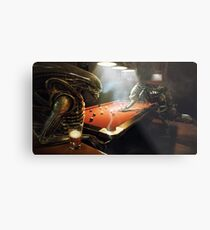 avp pool Metal Print