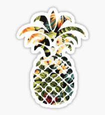 Hawaiian Pineapple Sticker